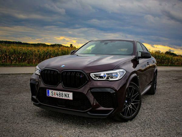 BMW X6 M Competition Front
