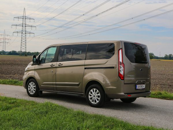 Ford Tourneo Custom PHEV Heck