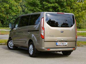 Ford Tourneo Custom PHEV Heck