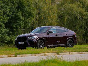 BMW X6 M Competition Fahraufnahme