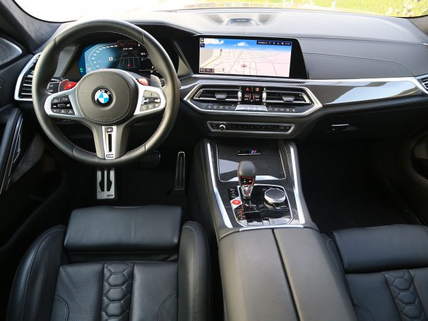 BMW X6 M Competition Innen