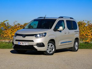 Toyota Proace City Verso Front